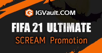 On Halloween, what benefit will you get from igvault for FIFA 21 Coins?
