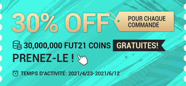 FIFA21 Coins 30% OFF NOW